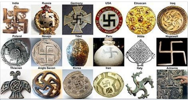 swastika symbol around the world