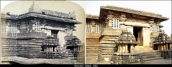 119430D1 - Hoysala Temples in 19th century