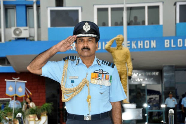 Indian Air Force Salute