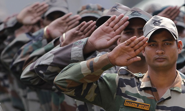 Indian Army Salute