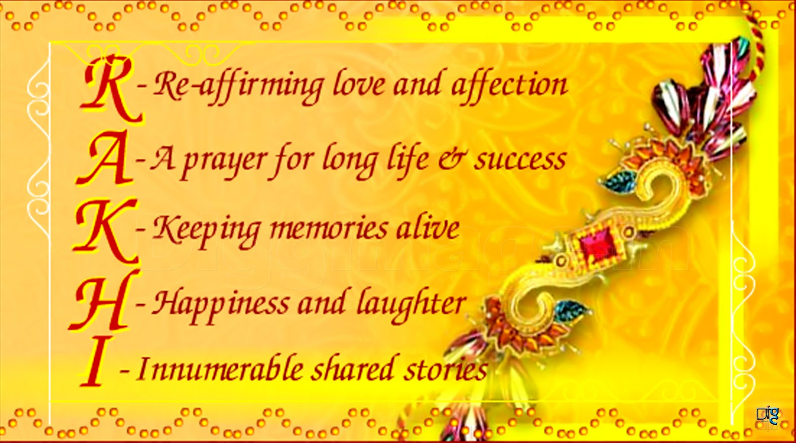 Spell the real meaning of Rakhi with this elegant Raksha Bandhan - Meaning & Significance Of Raksha Bandhan