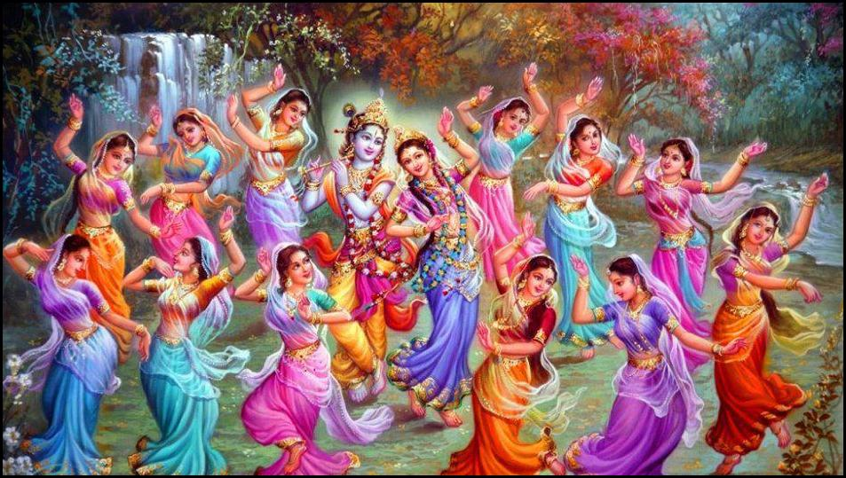 rasa lila - Love Letter To Propose Lord Krishna - By Rukmini Ji