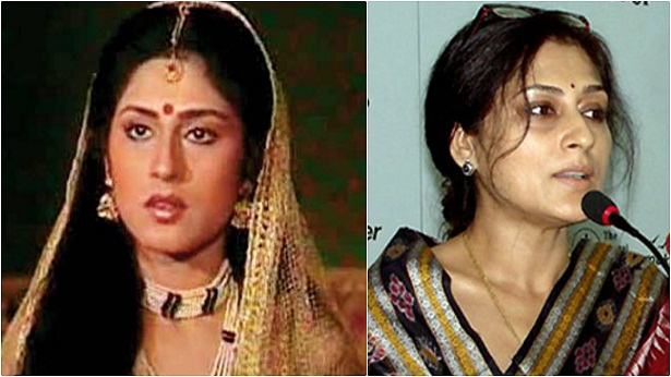 Roopa Ganguly Then and Now1 - The Cast Of B.R. Chopra's Mahabharata: Then And Now