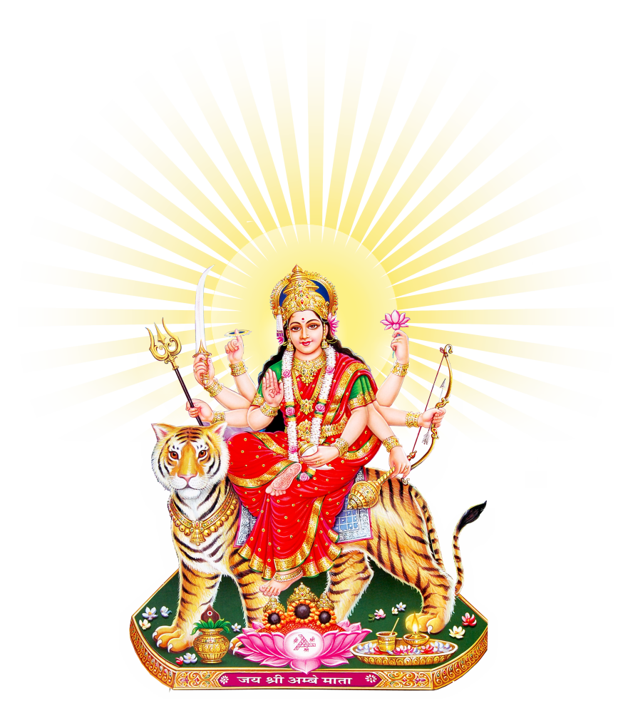 Goddess Durga Maa PNG - Goddess Durga Maa PNG Transparent Images
