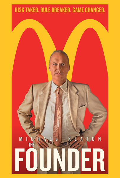 poster large - The Founder of McDonald's