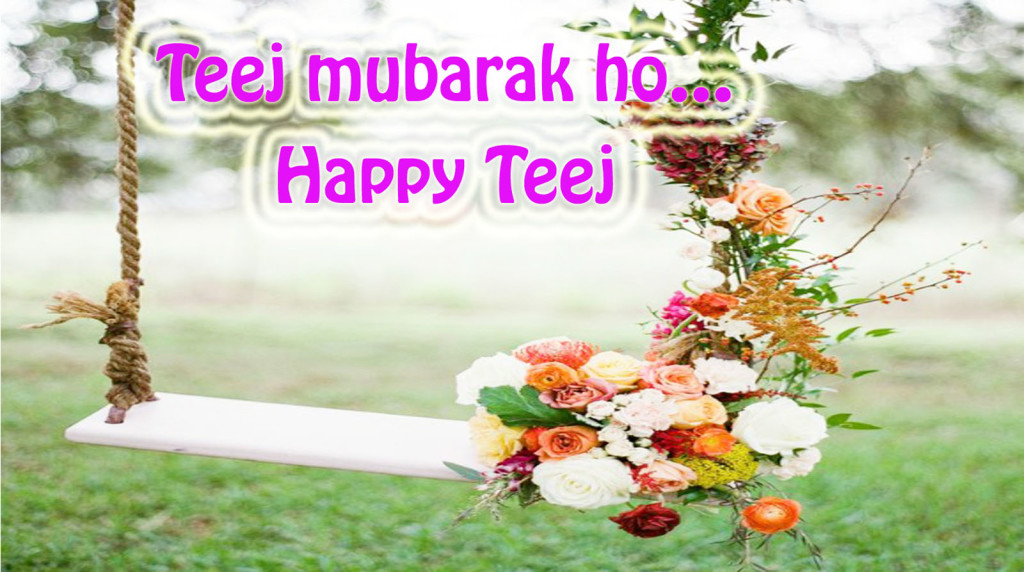 Happy teej wishing with lovely quotes