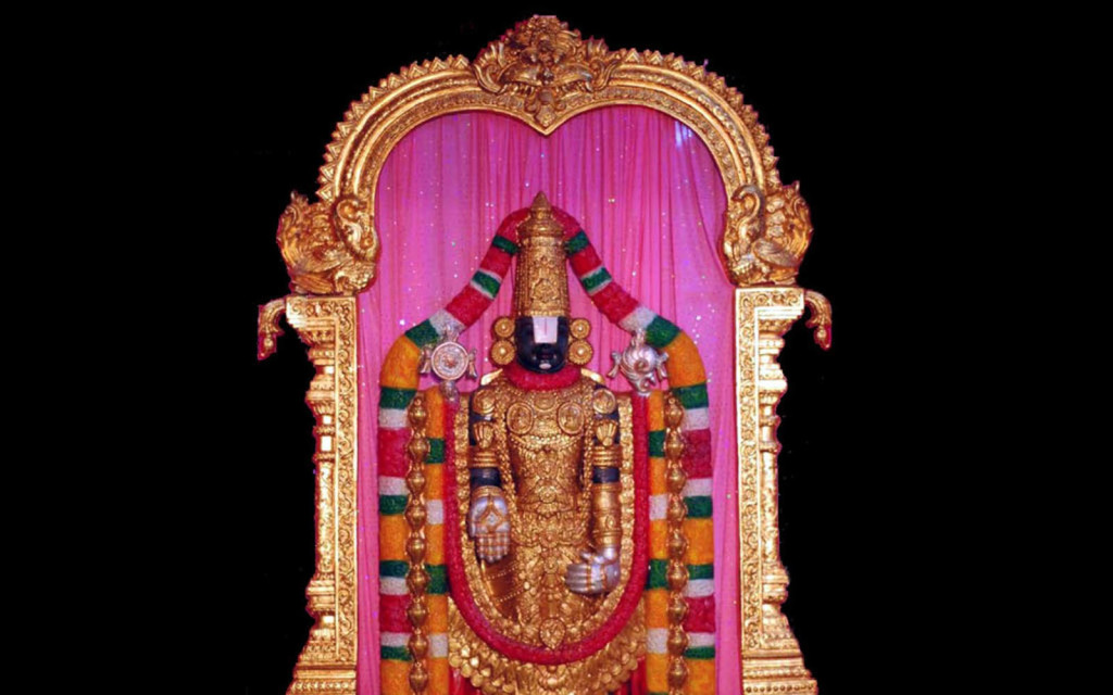 Lovely Statue of god Venkateswara