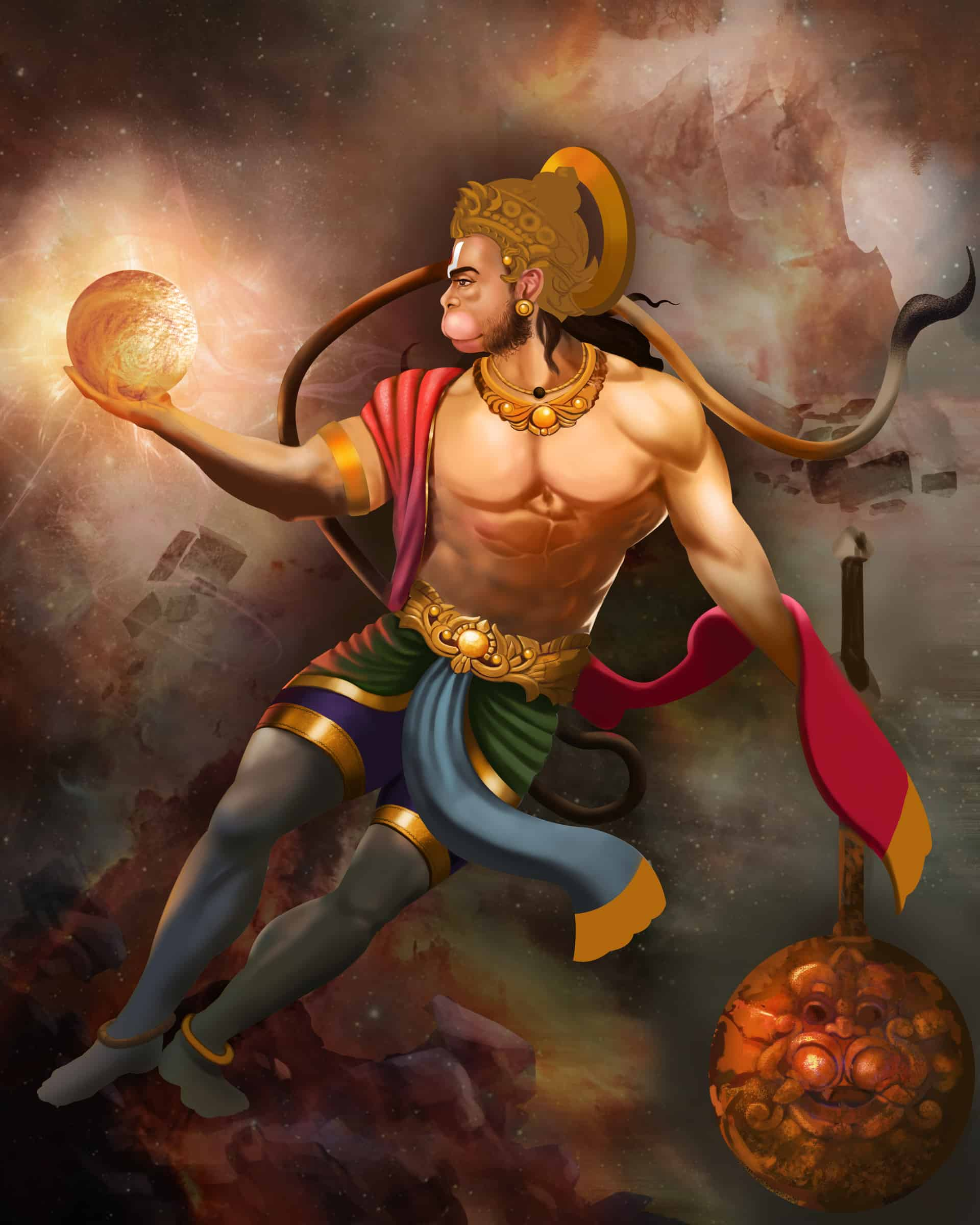 Hanuman The Indian god hd - Hanuman The Indian god