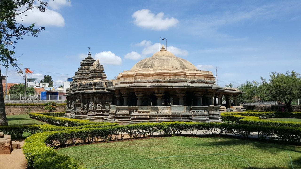 The Ishvara Temple in Arasikere hd - The Ishvara Temple in Arasikere, Hassan, Karnataka