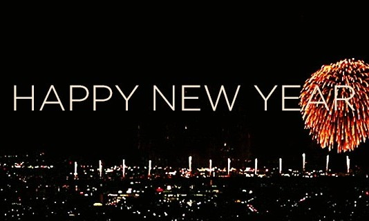 Happy new year animated gif hd