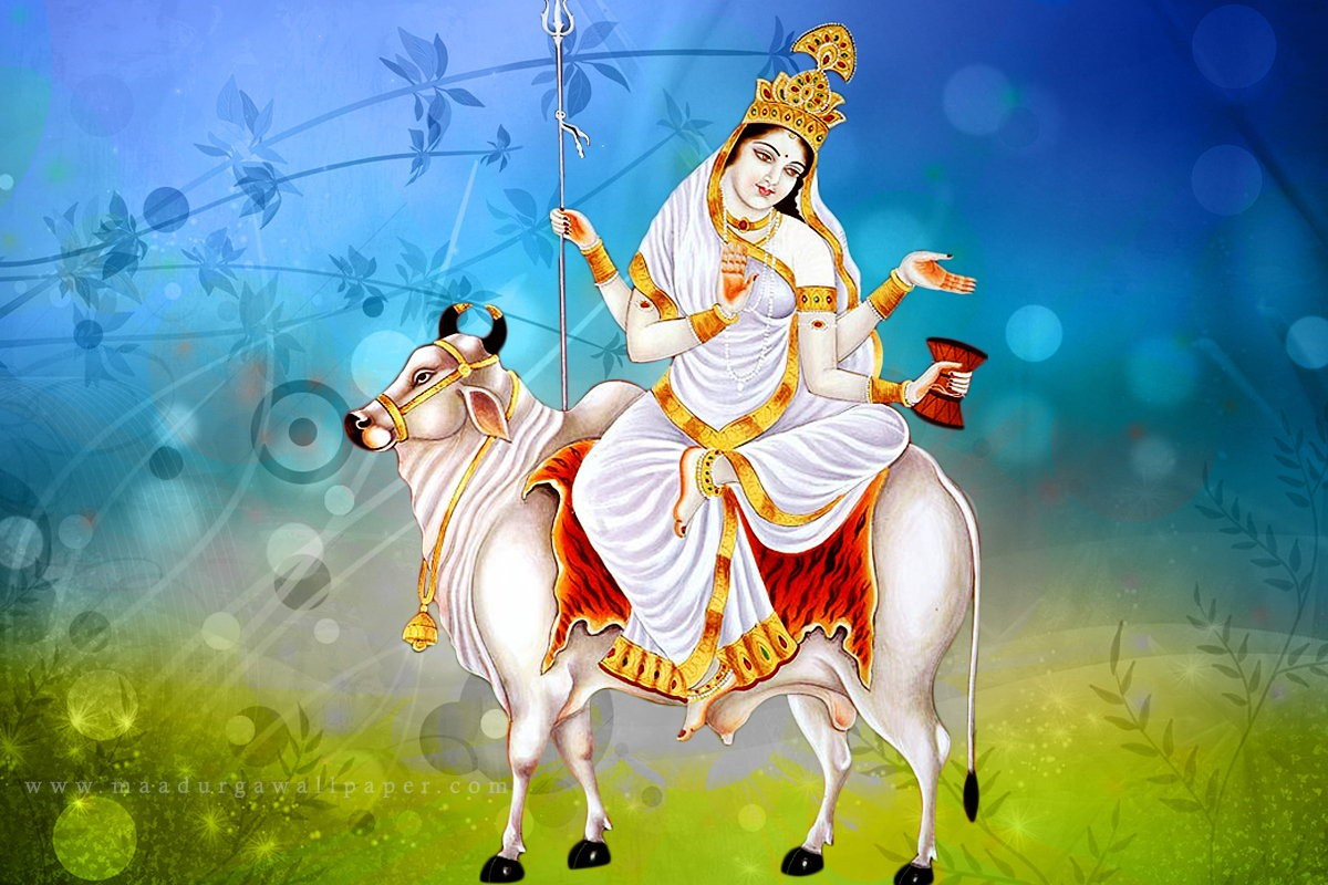 Shailputri Mata Wallpaper